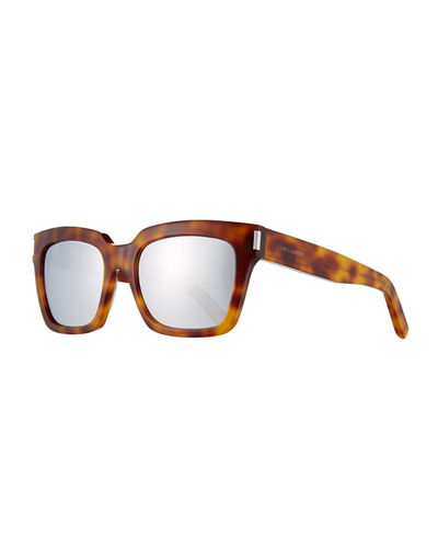 Bold 1 Mirrored Square Sunglasses
