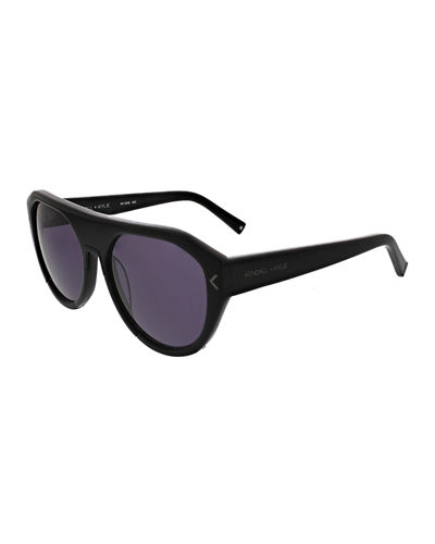 Mercy Acetate Flat-Top Sunglasses