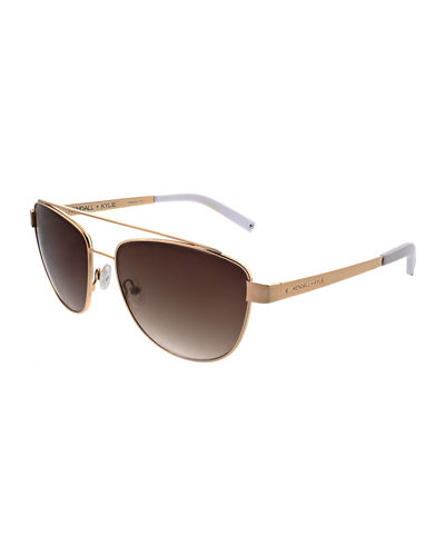 Lexi Teacup Aviator Sunglasses