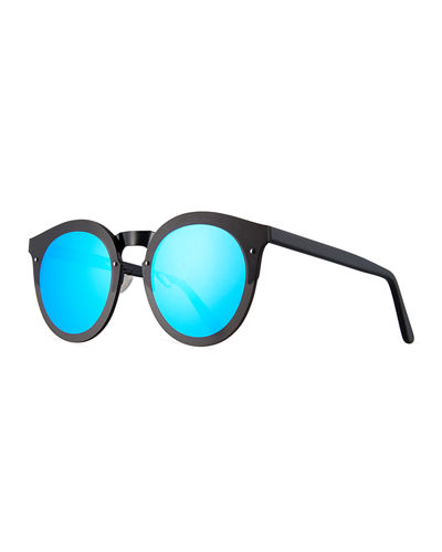 Palermo Round Polarized Sunglasses