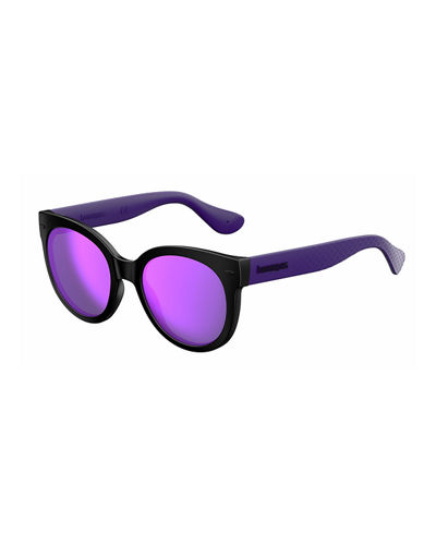 Havaianas Rubber Cat-Eye Sunglasses