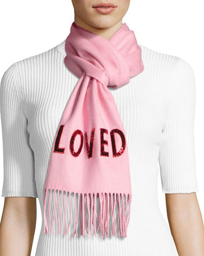 Loved Silk Cashmere Reversible Scarf