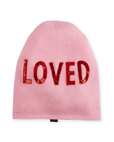 Loved Knit Beanie Hat