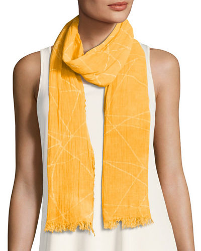 Eileen Fisher Organic Cotton Maltinto Constellation Scarf