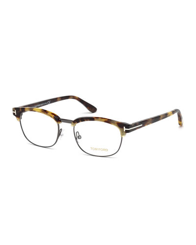 Semi-Rimless Square Optical Frames