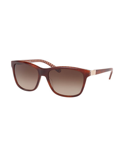 Squared Cat-Eye Sunglasses