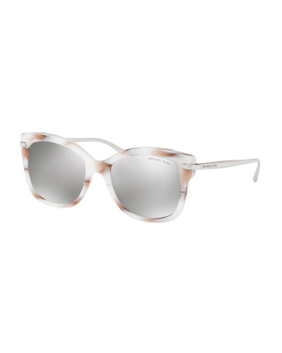 Metal-Temple Plastic Sunglasses
