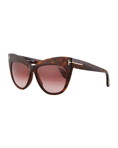 Nika Acetate Cat-Eye Sunglasses
