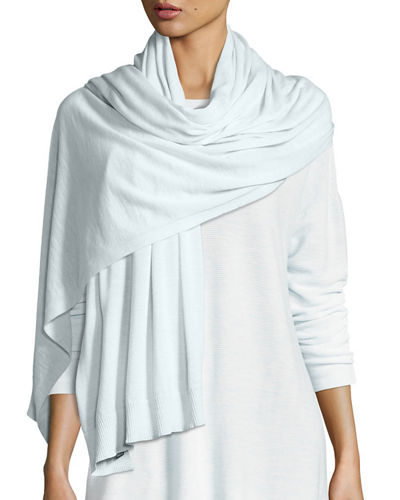Eileen Fisher Seamless Luxe Merino Wrap/Shawl