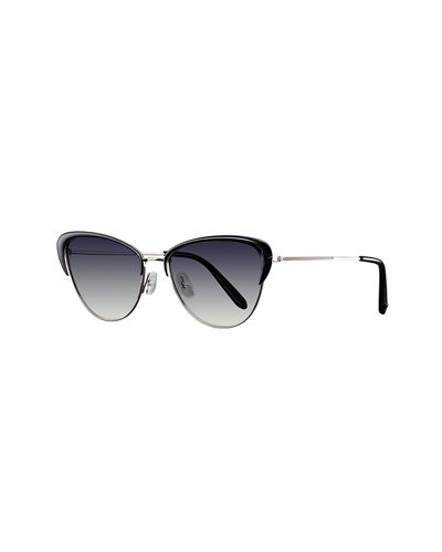 Vista Cat-Eye Gradient Sunglasses