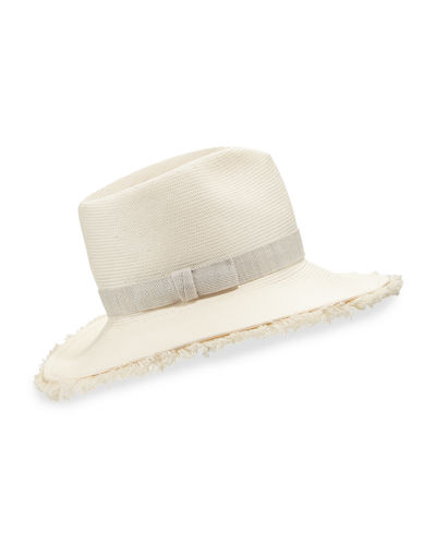 Fringy Floppy Beach Fedora Hat