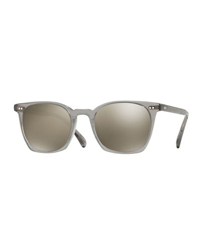 La Coen Mirrored Square Sunglasses