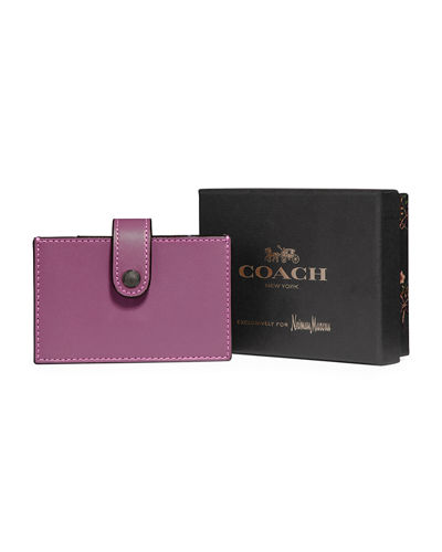 Accordion Leather Card Case