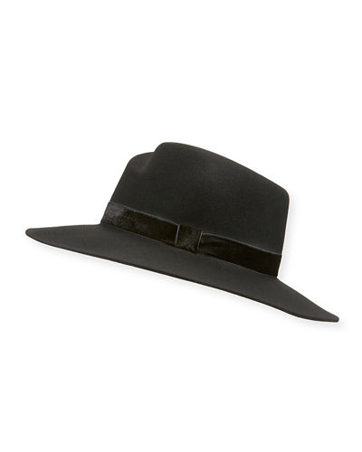 Zoe Wool Fedora Hat