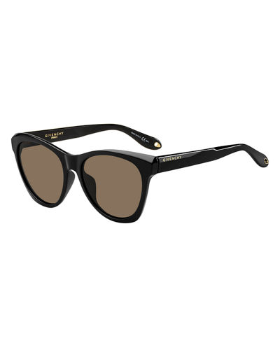 Square Faceted Gradient Sunglasses