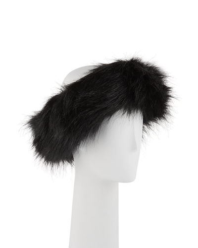 Halo Faux-Fur Headband
