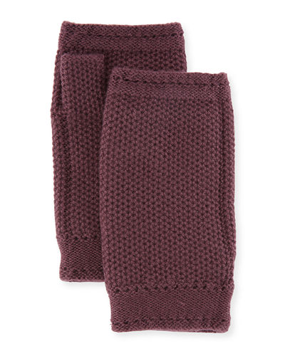 Rougemont Cashmere Fingerless Gloves