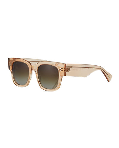 Tavita Square Chunky Acetate Sunglasses