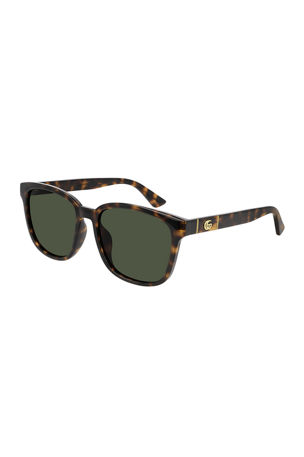 Gucci Square GG Injected Sunglasses