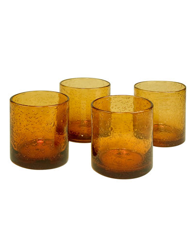 Iris Double Old-Fashioneds, Set of 4