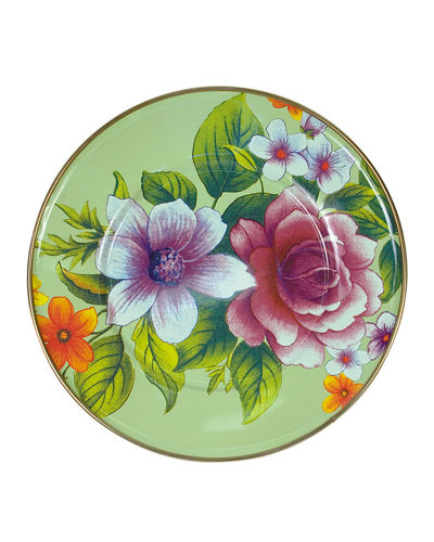 Flower Market Luncheon Plate