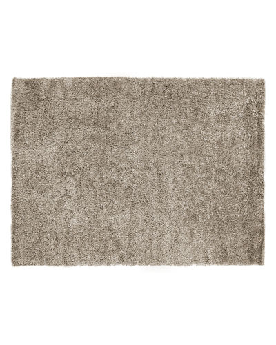 "Neutral Shag Rug, 9'6"" x 13'6"""