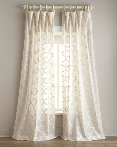 "Each 108""L Graceful Sheer"