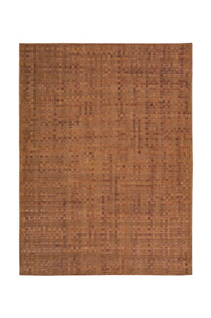 "NourCouture Derby Woven Leather Rug, 5'3"" x 7'5"""