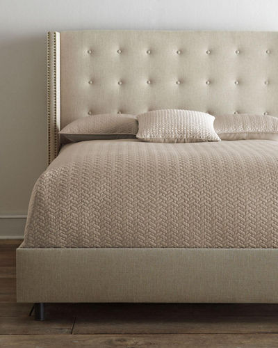 Parlin Tufted King Bed