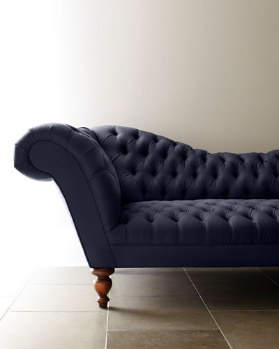 Old Hickory Tannery Ellsworth Recamier Sofa