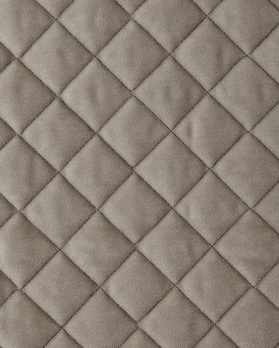 King Elite Quilted Velvet Coverlet