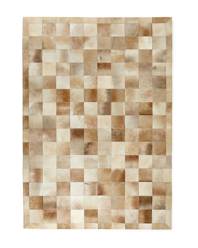 Winslow Hide Blocks Rug, 9'6