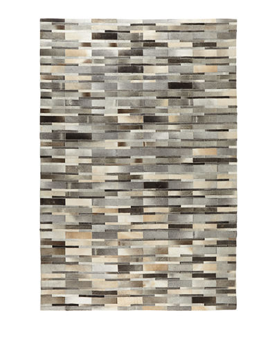 Exquisite Rugs Mosaic Hairhide Rug, 9'6