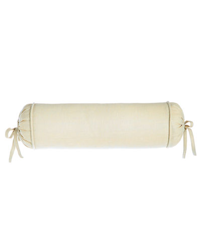 Monterey Solid-Color Neck Roll Pillow, 6