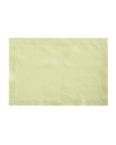 Hemstitched Placemats, Set of 4