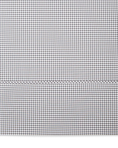 Twin Gingham Flat Sheet