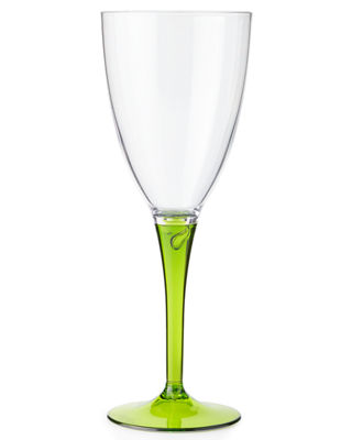 Neiman_marcus Colorful Wine Glasses, Set Of 4