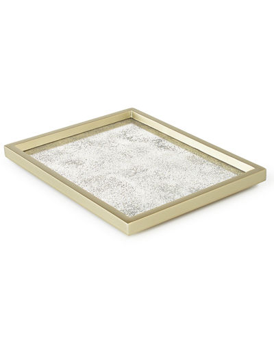 Waylande Gregory Antiqued Glass Vanity Tray