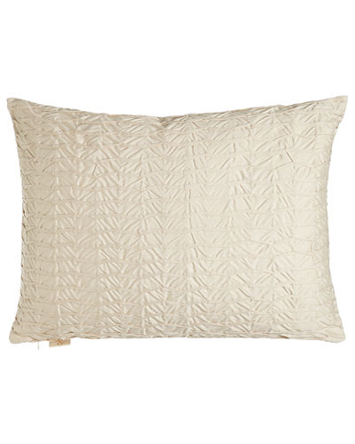King Pleat-Textured Sham