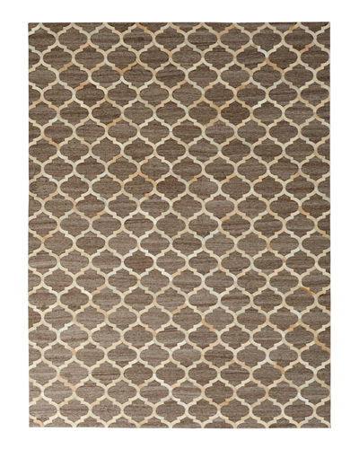 Samovar Hairhide Rug, 11'6