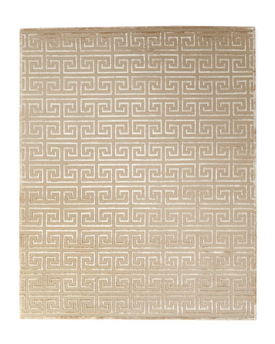 Jay Greek Key Rug, 9' x 12'