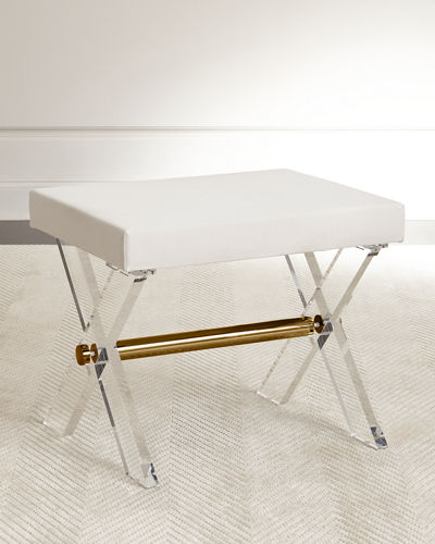Harrah Acrylic Stool