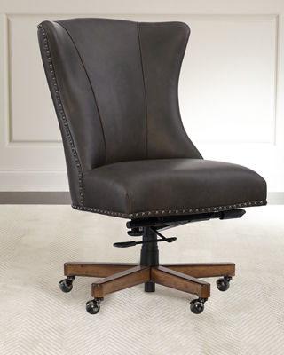 Hooker Furniture Shawnee Leather Office Chair