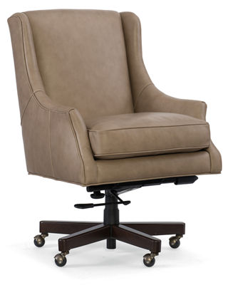 quick look hooker furniture arthur leather desk chair