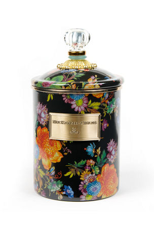 MacKenzie-Childs Medium Flower Market Canister