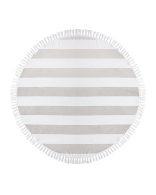 The Kassatex Cabana Round Beach Towel