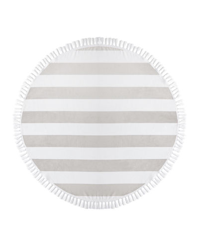 Cabana Round Beach Towel