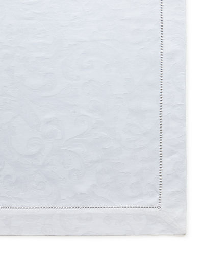 "Plume Jacquard 70"" x 126"" Tablecloth"