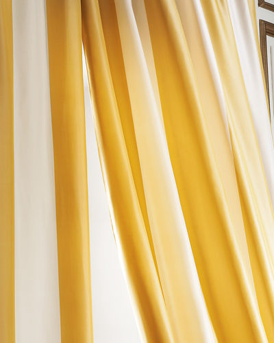 HAMPTON STRIPE DRAPE 52X108