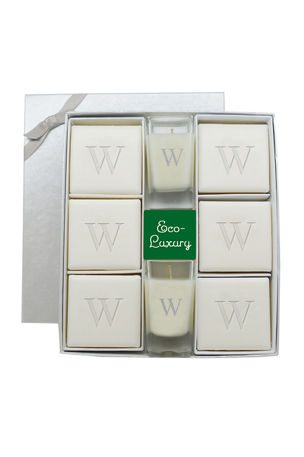 Carved Solutions Monogram Eco-Luxury Ultimate Gift Set